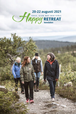 Programbiljett Happy Retreat Vemdalen 2021