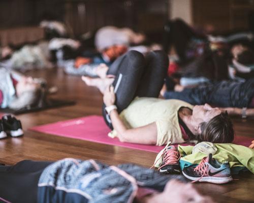 Yin yoga på hotellet