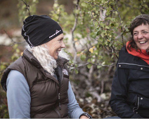Fjällboost, Anna-Karin och Margaretha