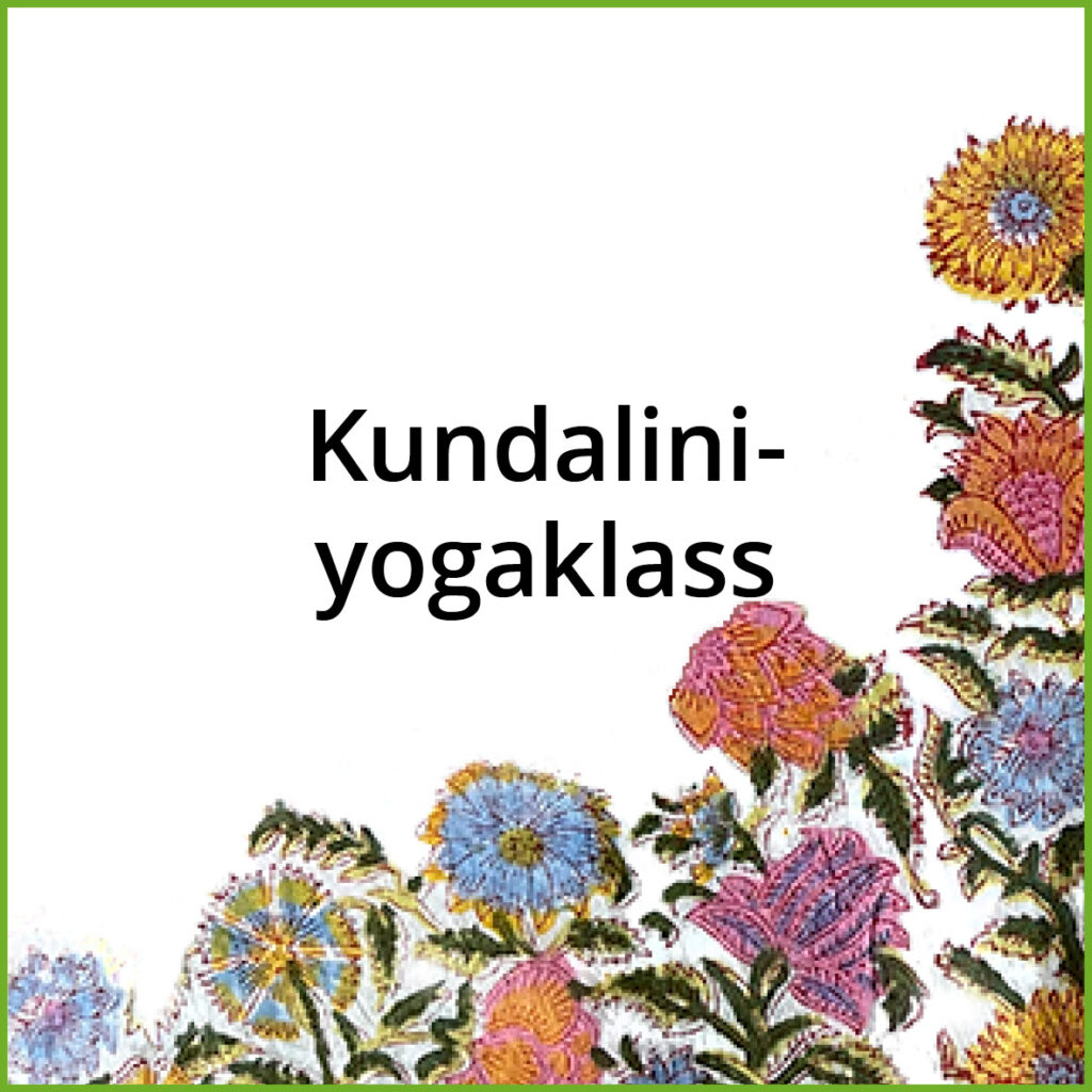 Kundalini yogaklass