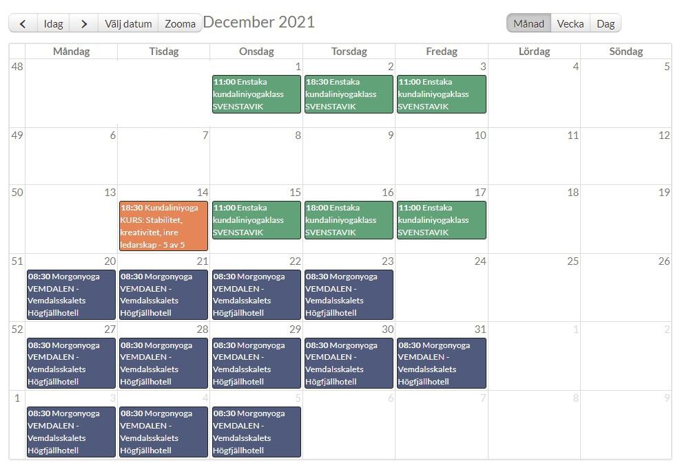 Kalenderbild december 2021