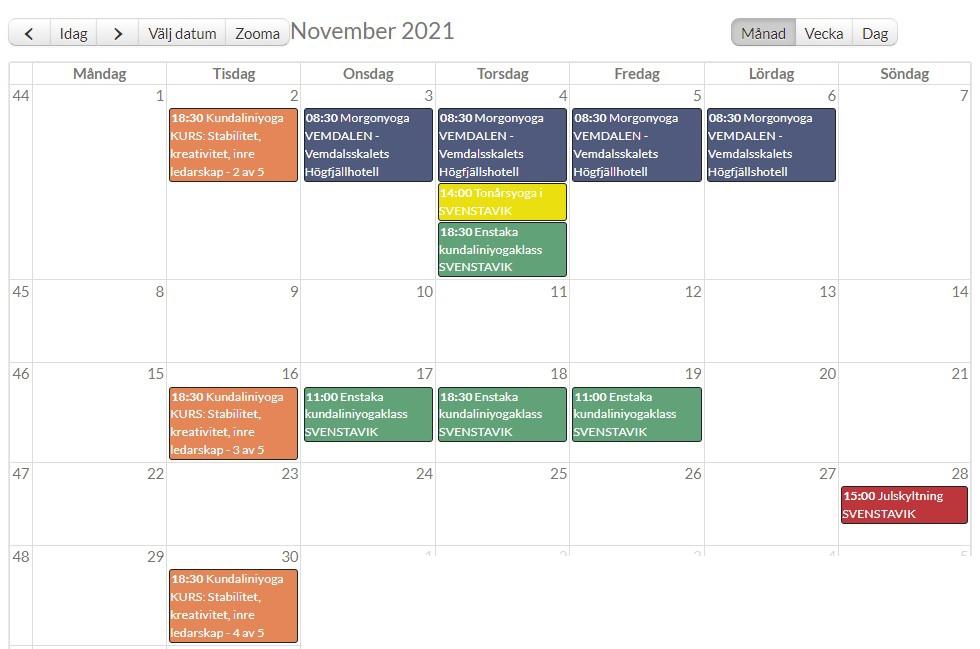 Kalenderbild november 2021